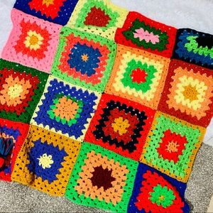 Afghan Granny Squares Small
